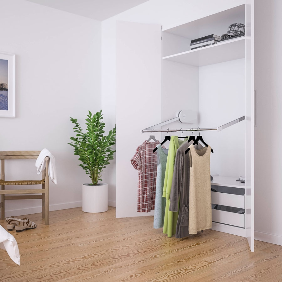 Electric wardrobe lift - BUTLER 720