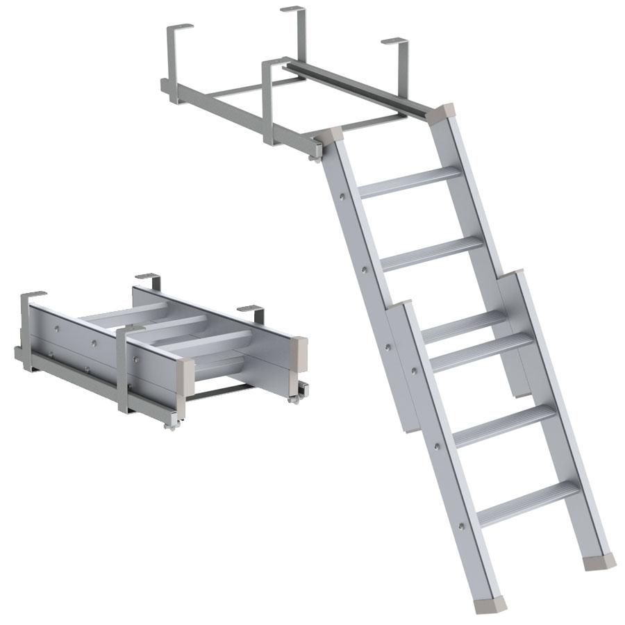 Einschiebbare Leitern