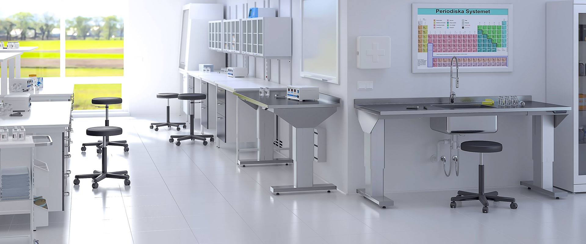 Height adjustable table - 7190