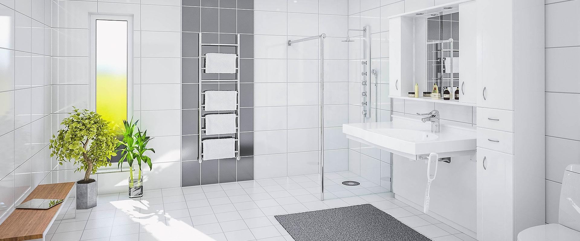 Höj- och sänkbara tvättställ