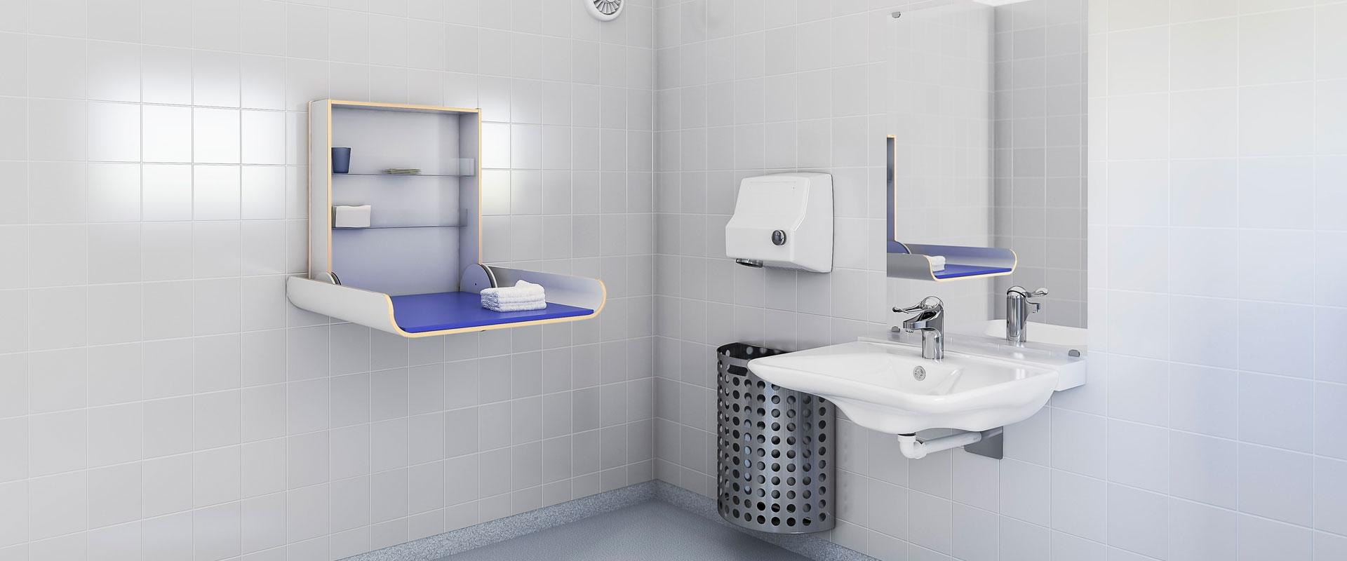 wickeltisch 337 h henverstellbare wickeltische wickel u pflegetische granberg. Black Bedroom Furniture Sets. Home Design Ideas