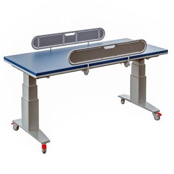 Table à langer électrique et mobile à hauteur variable 345