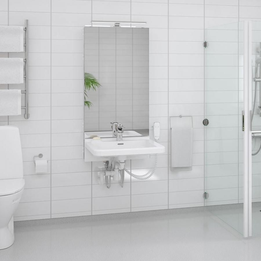 Elektriskt höj- och sänkbara tvättställ - BASICLINE 433