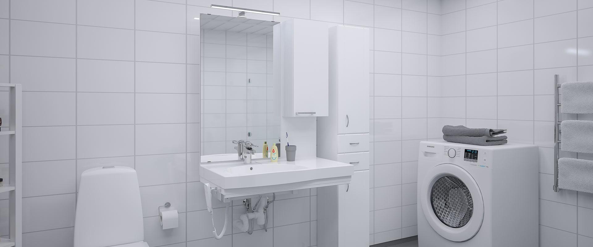 Tvättställsmodul - BASICLINE 434