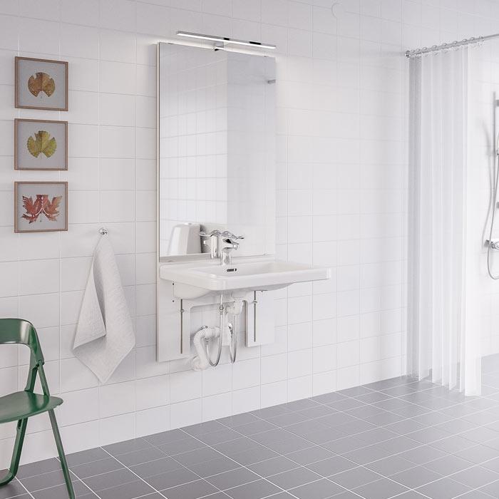 Manuellt höj- och sänkbara tvättställ - BASICLINE 401