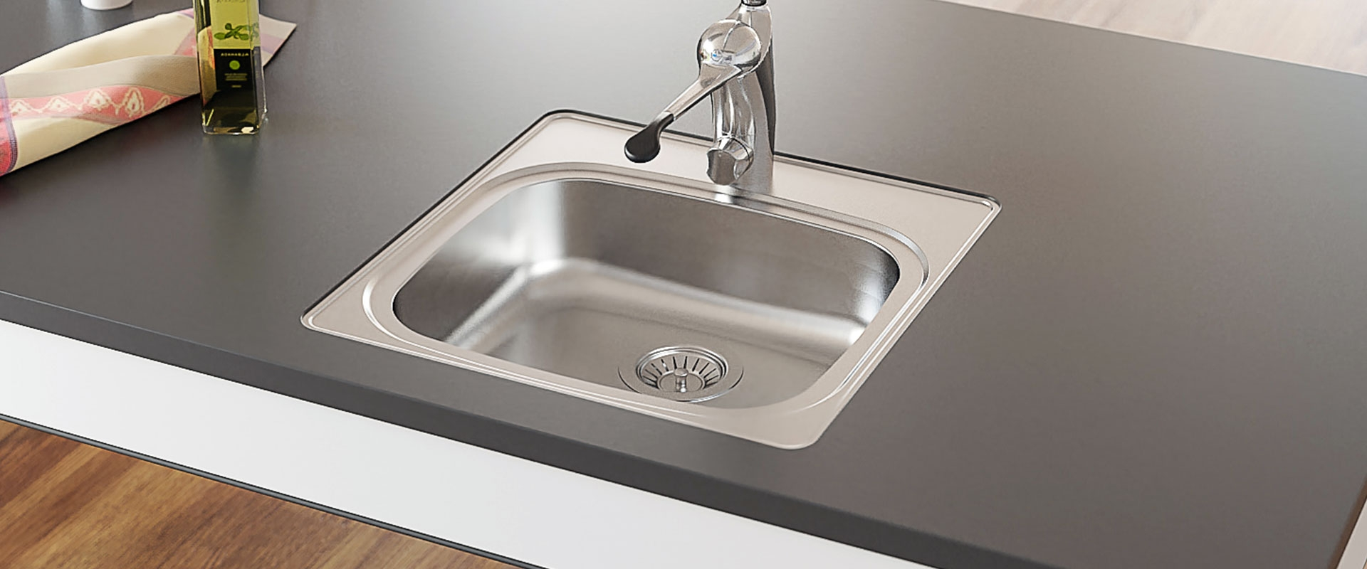 Inset Kitchen Sink ES11 - 49.6 cm
