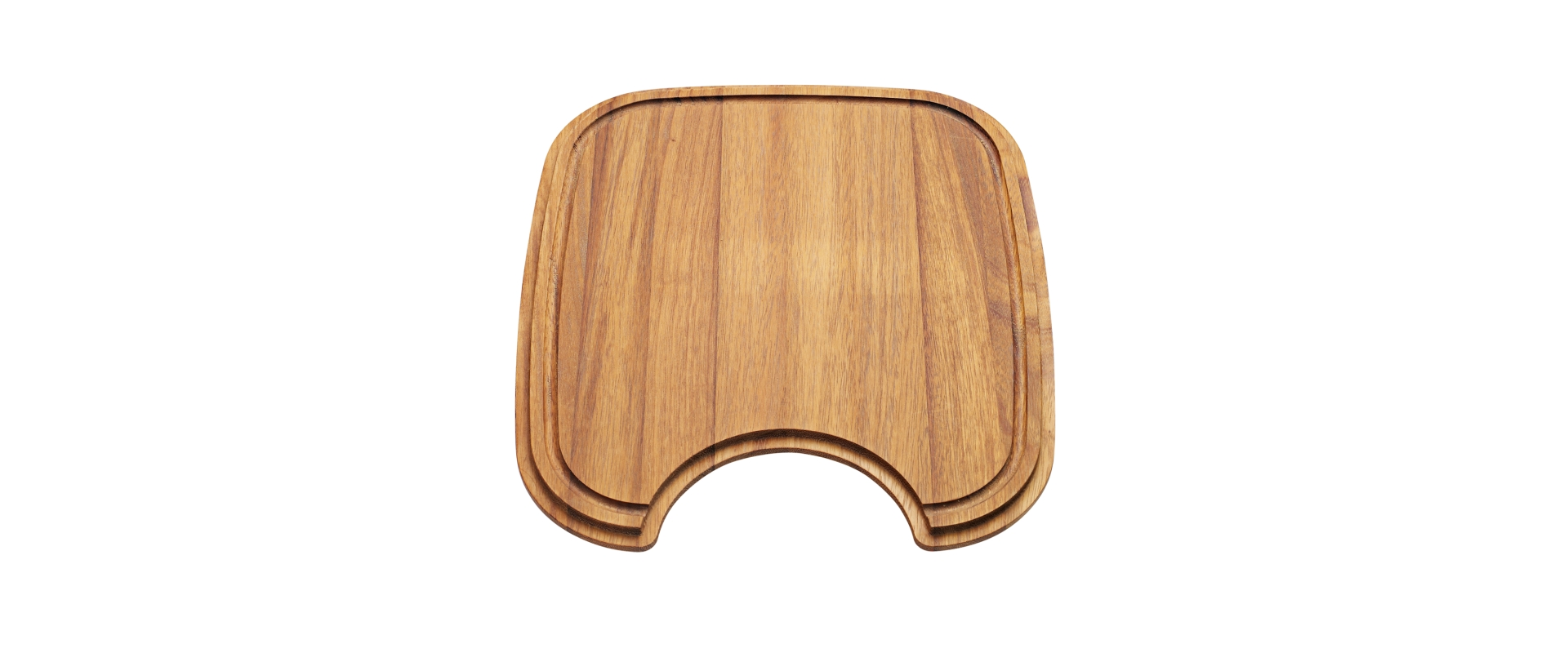 Chopping board for sink bowl 340x400 mm