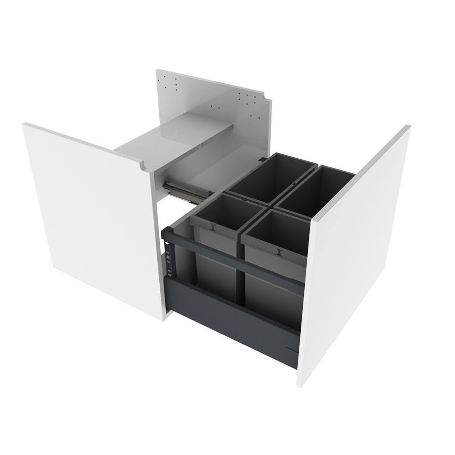 Hanging cabinet under sink, 60 cm